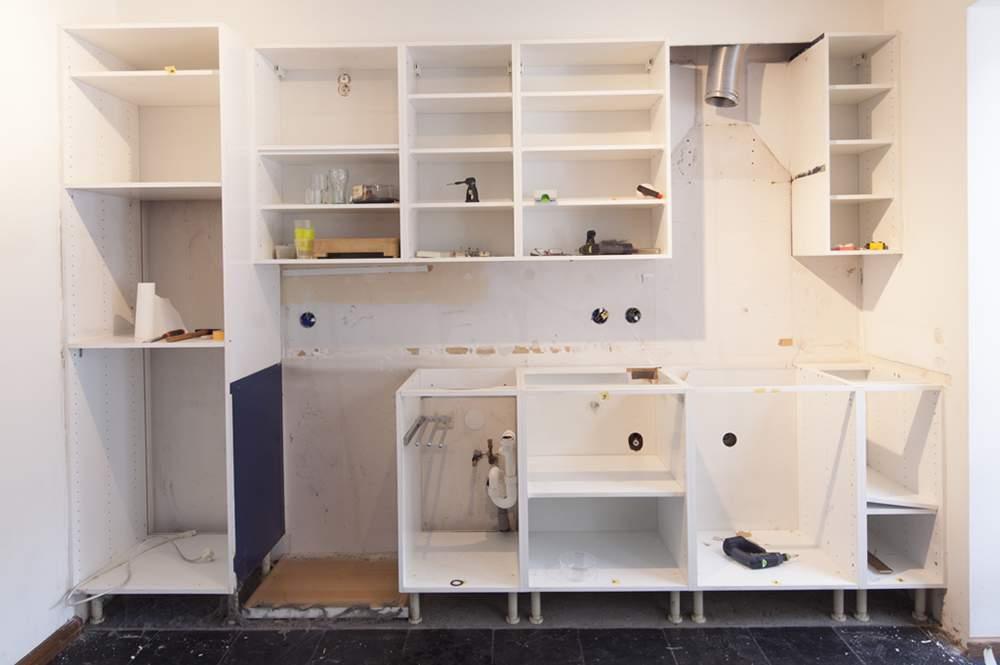 De keukenvernieuwers renovatie van uw oude keuken   product in ...