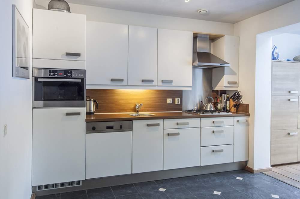 Moderne decoratie een schone keuken in een handomdraai