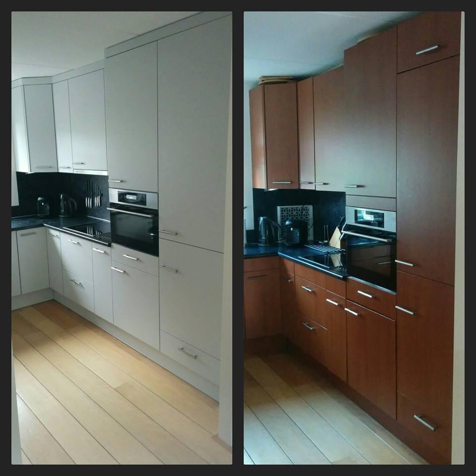 De Keukenvernieuwers vervangen keukenfronten