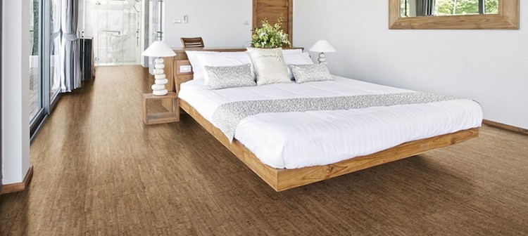 Kurkvloer in de slaapkamer - UW-Woonidee