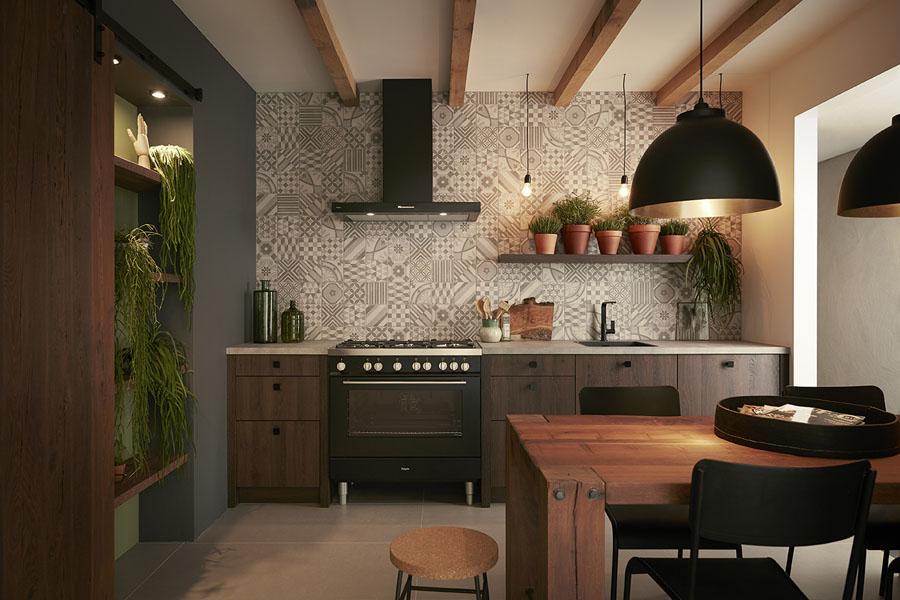 De moderne klassieke keuken product in beeld startpagina voor