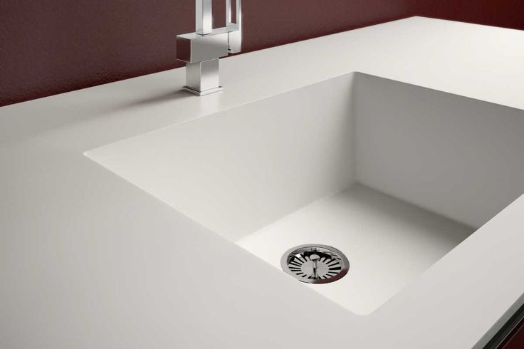 Witte Wasbak Keuken : Decamacs spoelbak solid surface uw keuken