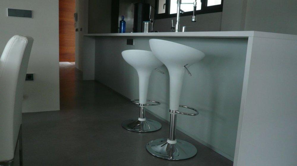 Design Beton keukenvloer