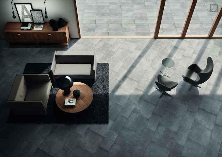 Minimalistische betonlook tegels product in beeld startpagina