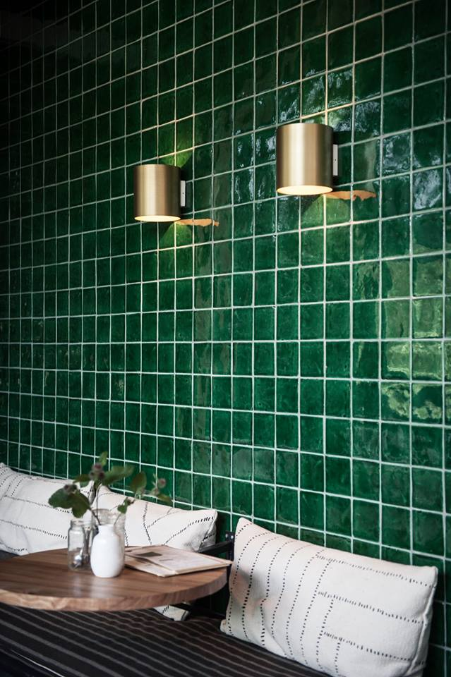 Geliefde Designtegels Spaanse tegel Azulejos Verde - Product in beeld #VM97
