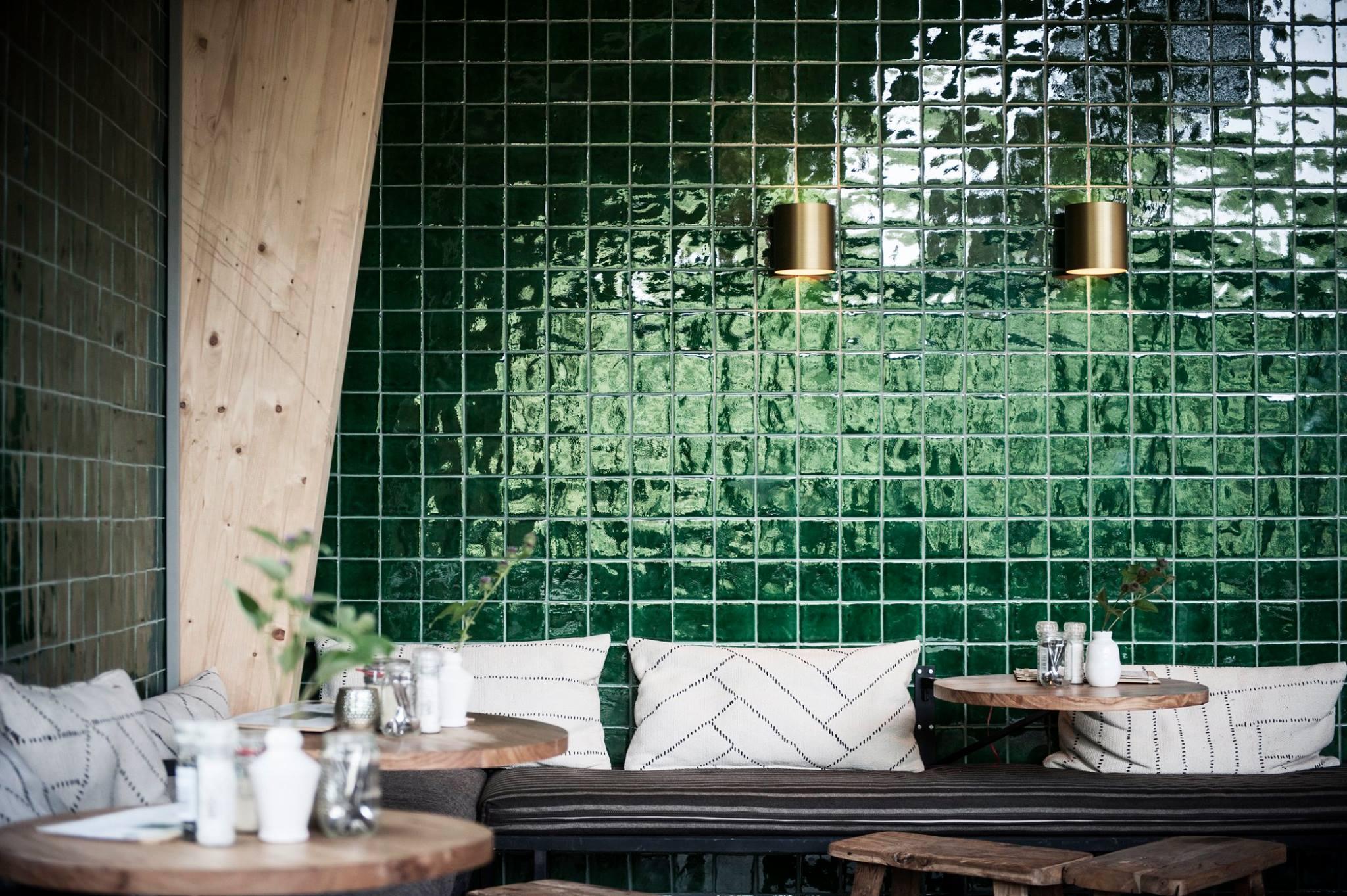 Designtegels Spaanse Tegel Azulejos Verde Product In
