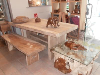Dessa houten eettafels