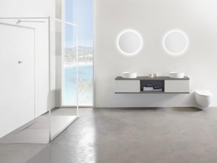 Minimalistisch badkamerdesign
