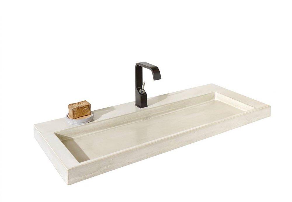Wastafel Van Beton : Detremmerie wastafels beton product in beeld badkamer ideeën