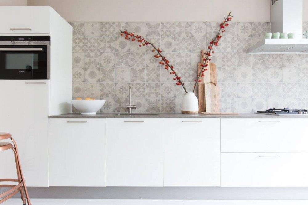 Douglas jones vt wonen tegels neo product in beeld startpagina voor keuken idee n uw - Tegel metro kleur ...