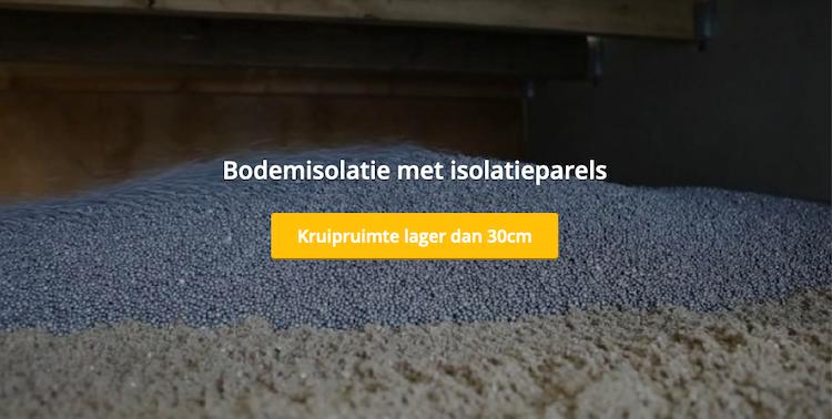 Isolatieparels voor lage kruipruimte | DroCom
