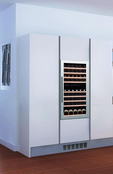 Design inbouw wijnkast | Dunavox