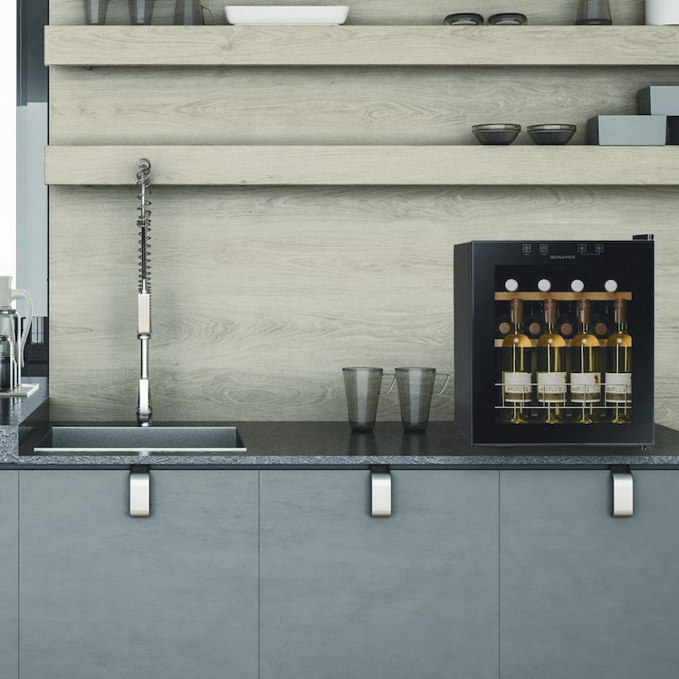 Kleine compressor wijnkast | Dunavox