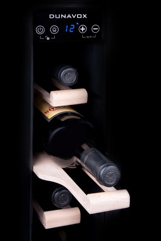 Dunavox slanke exclusieve wijnklimaatkast