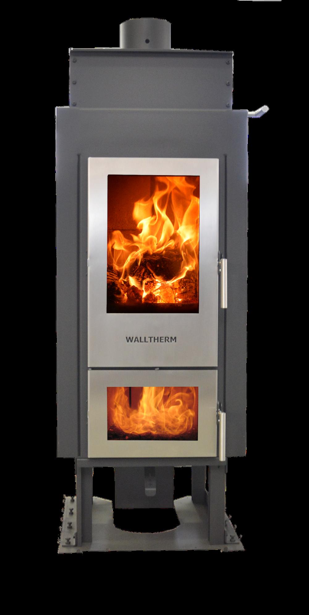 Eco2all Walltherm Vajolet Basic inbouw CV-houtvergasserkachel