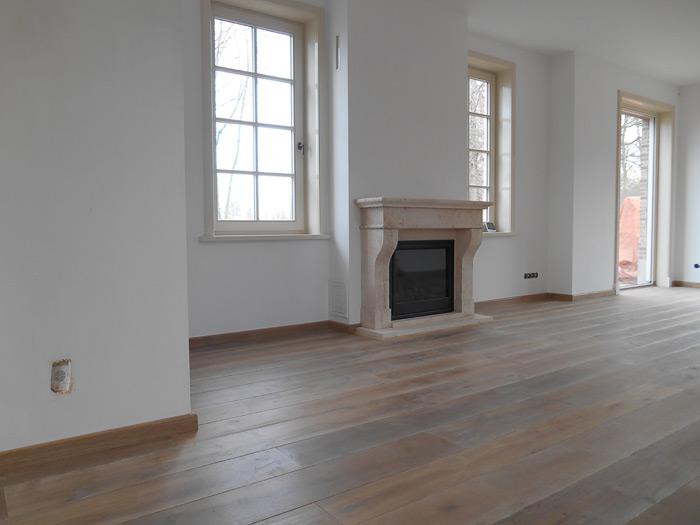Eiken houten vloeren gerookt bax houthandel product in beeld