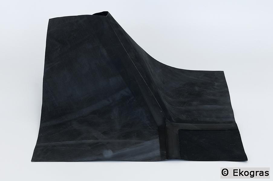 Ekogras Groendaken doe-het-zelf EPDM Wortelvaste dakbedekking