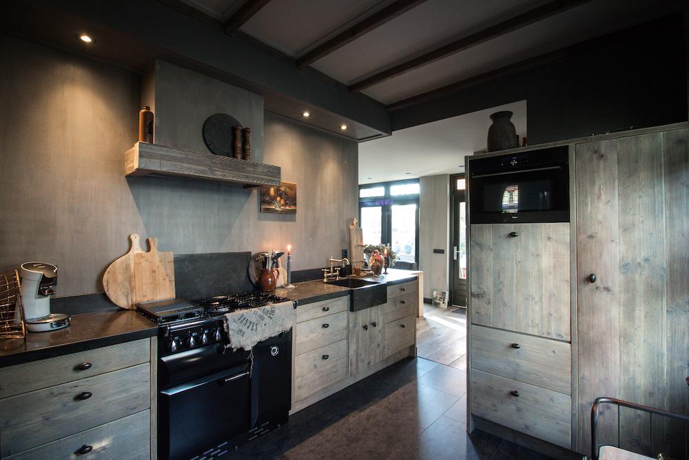 Landelijke Steigerhouten Keuken | Esgrado