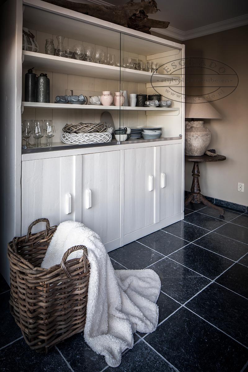 Esgrado steigerhouten woonkamer meubelen