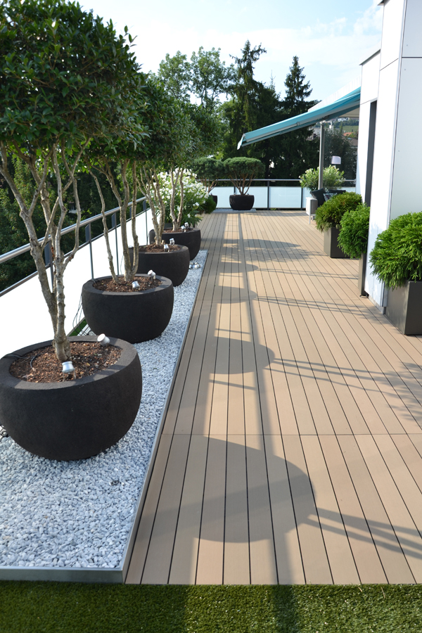 Esthec composiet terrasdelen dakterras & balkon