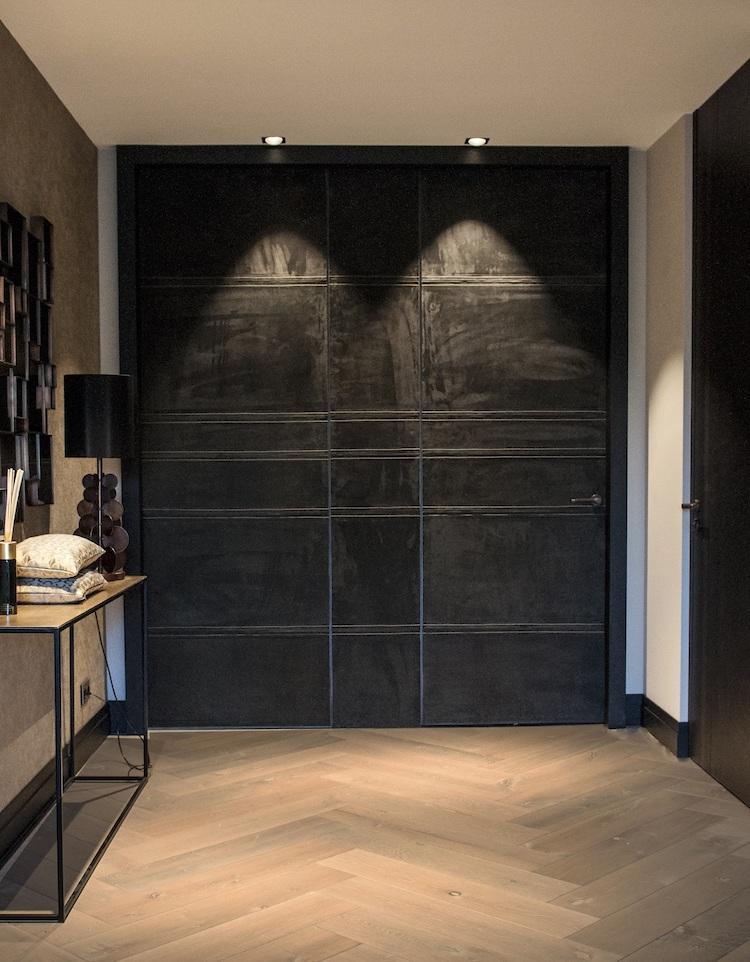 Lederen deurbekleding | Etagon