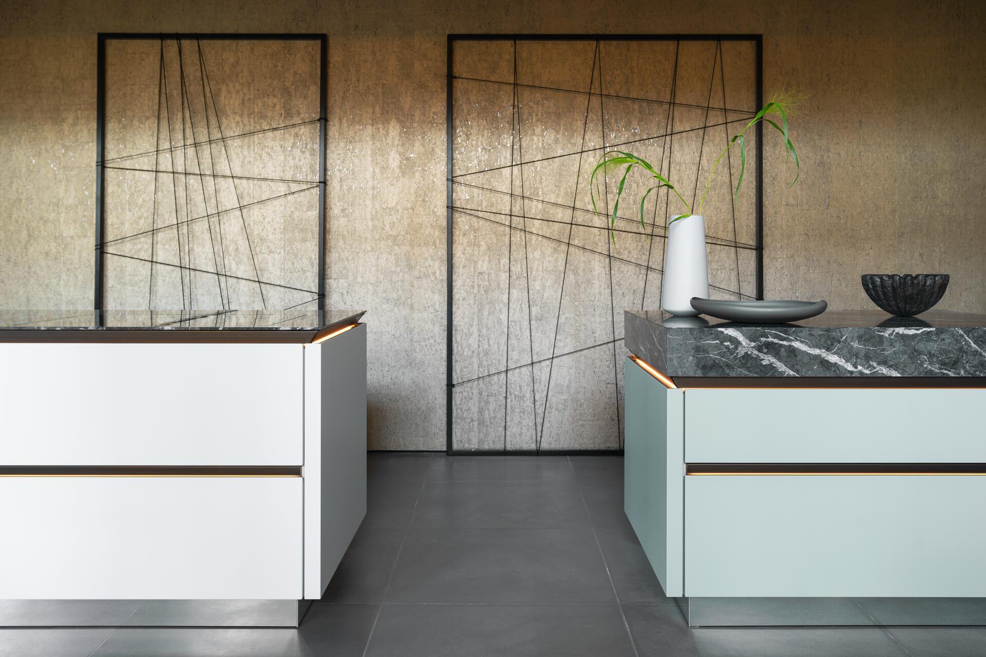 Exclusieve designkeuken SieMatic Pure SLX