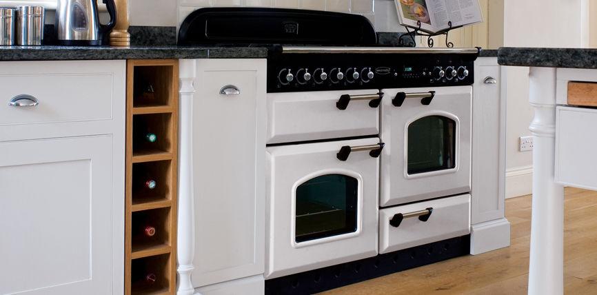 Klassiek fornuis voor kleine keuken