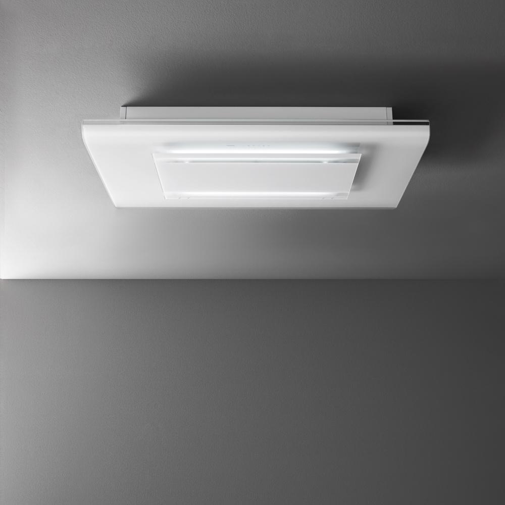 Witte plafond afzuigkap | Falmec