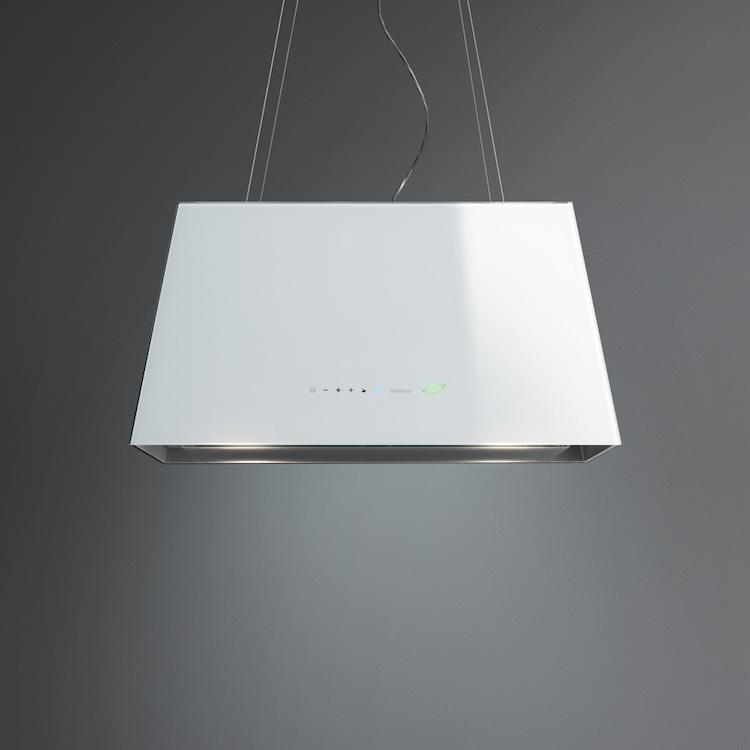 Moderne kookeiland afzuigkap Lumière E.ion