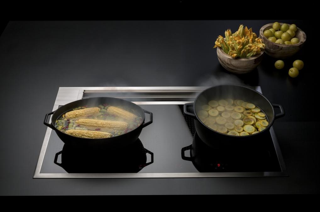 Kookplaat met achterafzuiging | Falmec