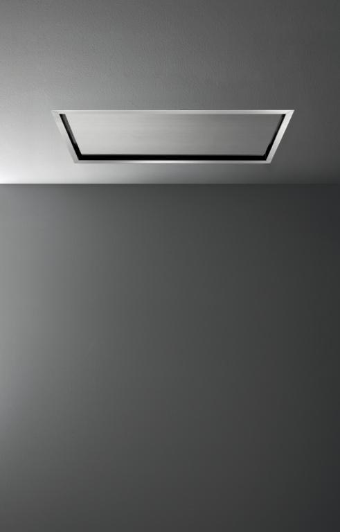 Geborsteld RVS plafond afzuigunit | Falmec
