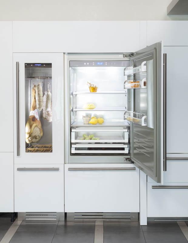 Fhiaba design koelkasten product in beeld startpagina voor keuken idee n uw - Meubels keuken beneden cm ...
