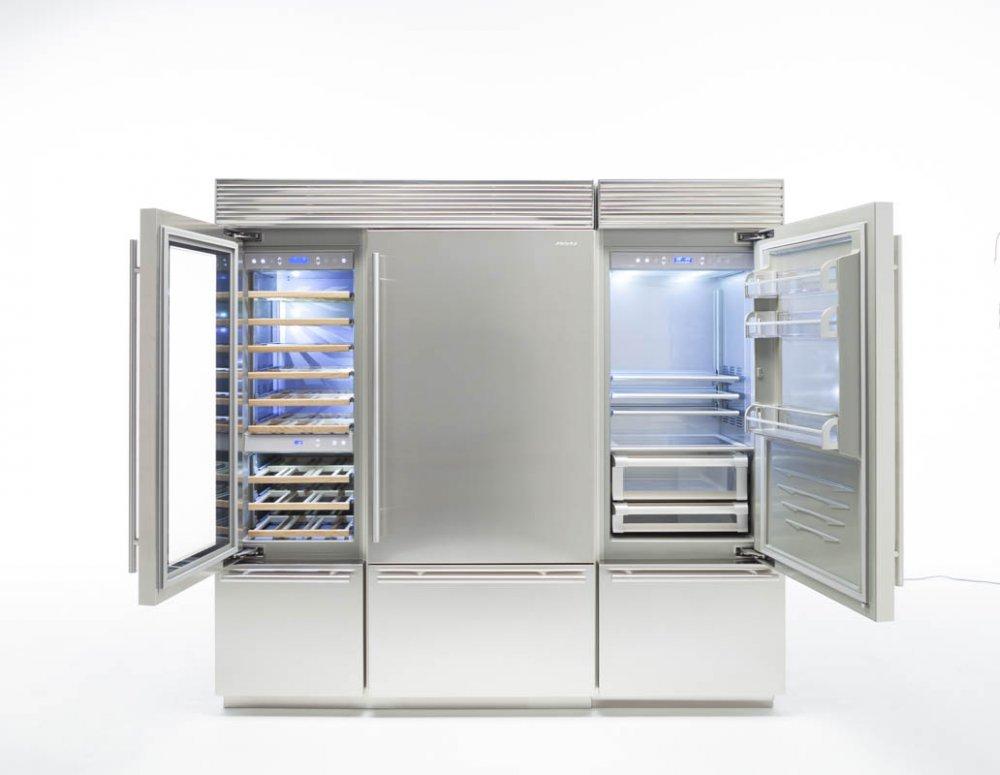 Fhiaba x pro vrijstaande luxe koelkasten   product in beeld ...