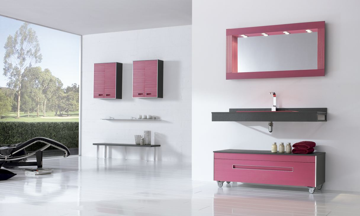 fiora colors collection badkamermeubelen product in