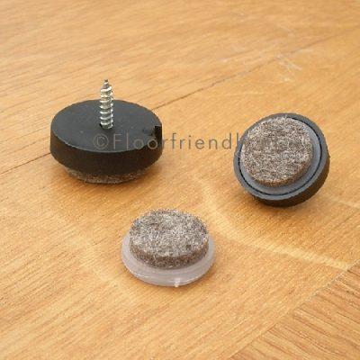 Viltglijder voor houten poot | Floorfriendly