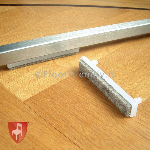 Floorfriendly Viltglijder voor plat buisframe