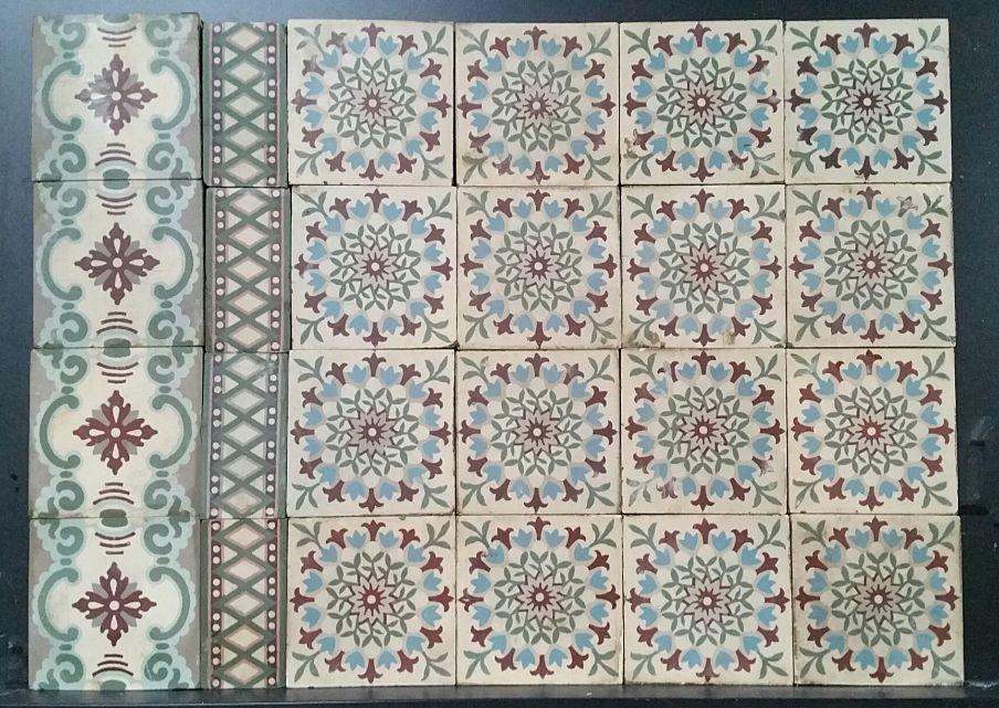 FLOORZ- antieke tegels R14