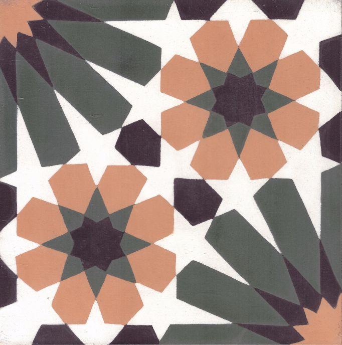 FLOORZ- Cementtegels Granada design