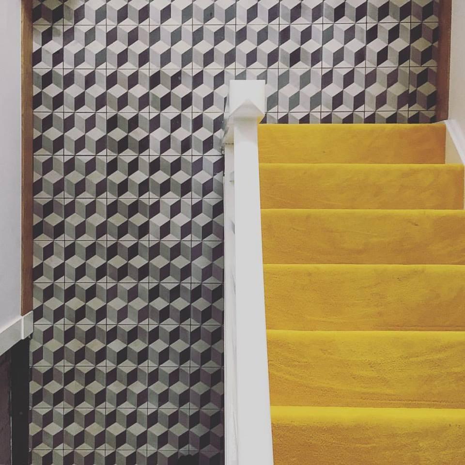 FLOORZ- Escher motief cementtegels