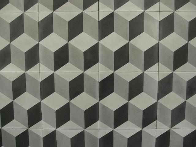 Vloertegels Keuken Zwart Wit : FLOORZ- Escher Portugese tegels – Product in beeld – Startpagina voor