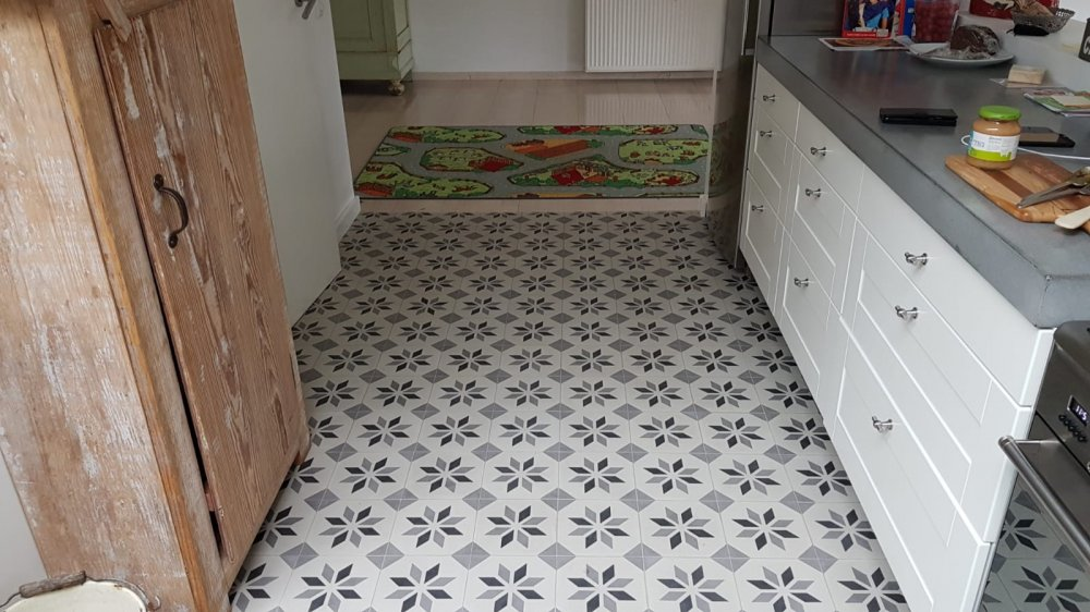 FLOORZ- Keuken met Portugese tegels
