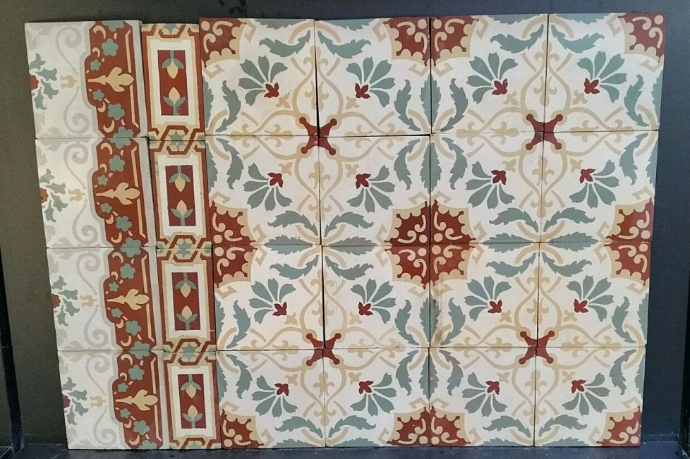 FLOORZ-oude,antieke tegels FR02