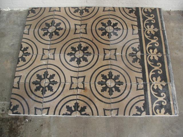 FLOORZ - Oude cementtegels