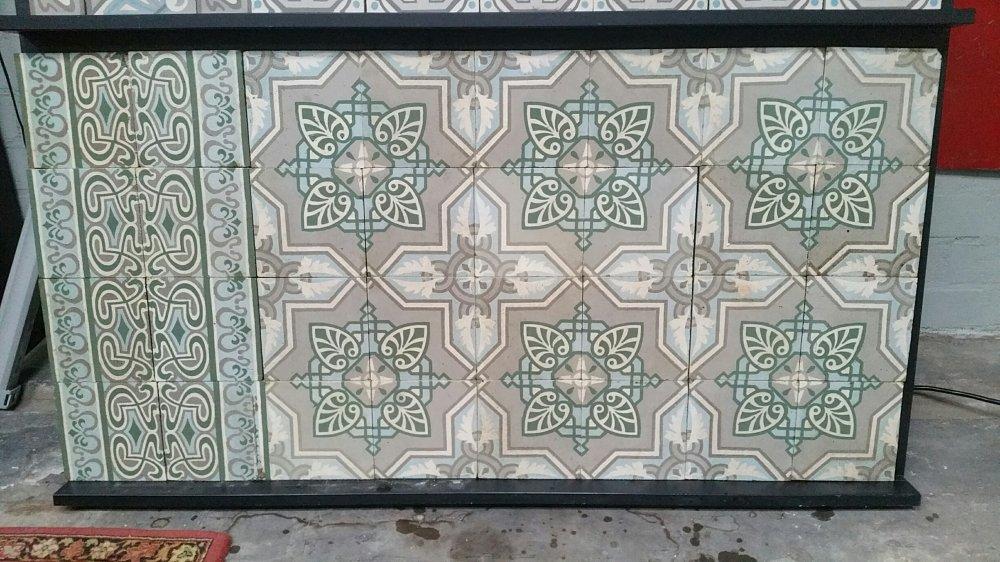 FLOORZ- Oude cementtegels FR16