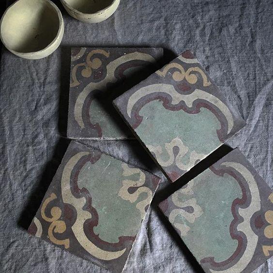 FLOORZ- Oude Jugendstil tegels