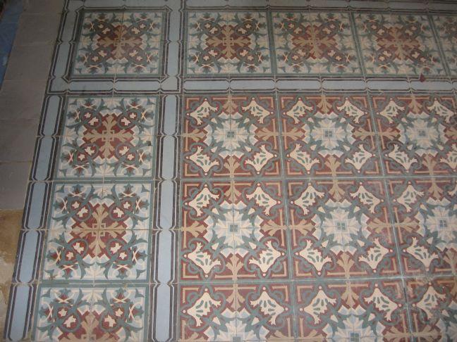 FLOORZ-Oude tegels