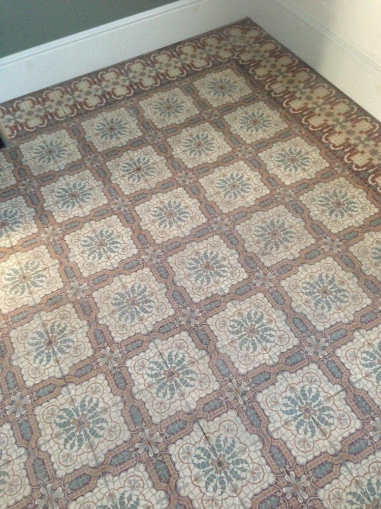 FLOORZ- Oude tegels mozaiek