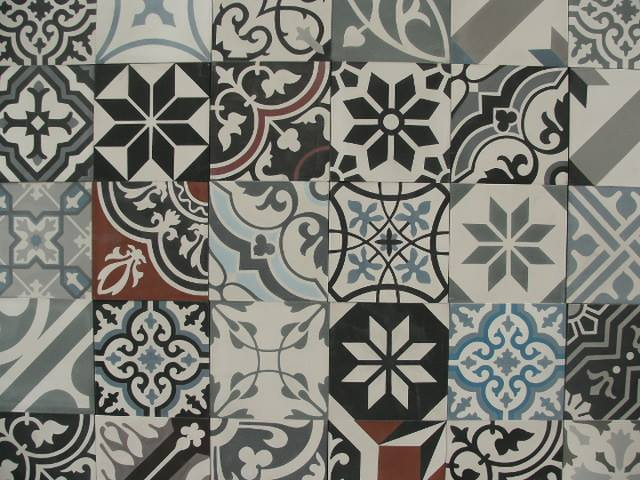 Portugese Tegels Belgie : Floorz patchwork portugese cementtegels living colorz product in