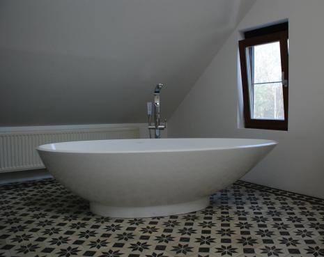 Cementtegels In Badkamer : Floorz portugese cementtegels badkamer product in beeld