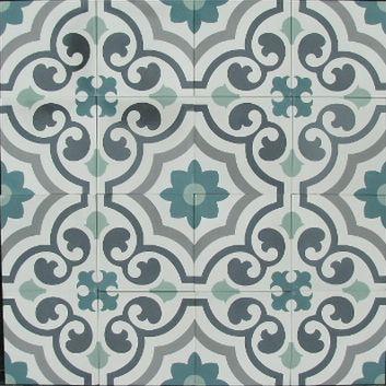 Floorz portugese tegels agadir 20x20 cm product in beeld startpagina voor vloerbedekking - Tegel patroon badkamer ...